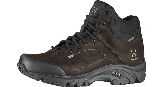 Haglöfs Ridge Mid GT - Chaussures de trekking Femme - noir